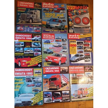 Auto Katalog, Katalog Rowerowy, Katalogi lata '90