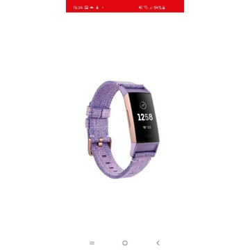 Smartband fitbit charge 3 lavender