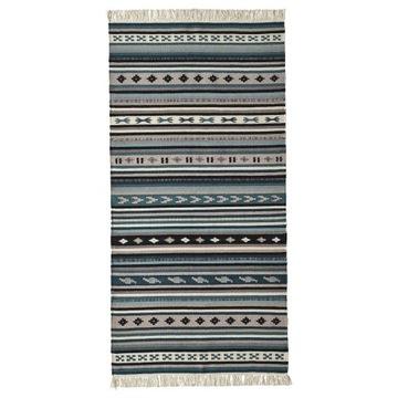 Dywan, Kattrup 75/150cm, wełniany, ręcznie tkany,
