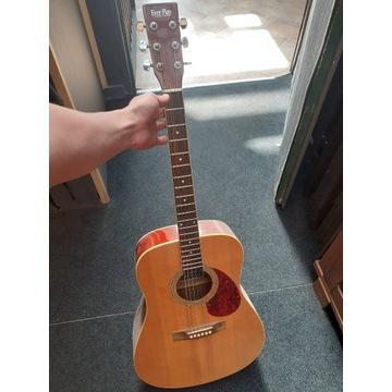 Gitara Everplay akustyczna + Setap