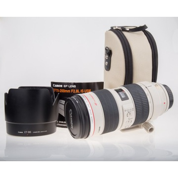 Canon EF 70-200mm F2.8L IS USM Gliwice idealny