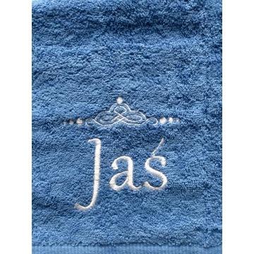 Ręcznik 30x50 z haftem imienia Jaś upominek