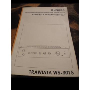 INSTRUKCJA SERWISOWA  WZMACNIACZA TRAWIATA WS-301S