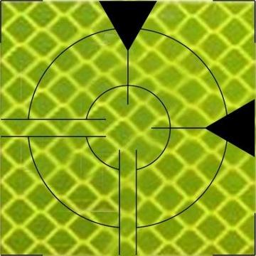 Folia Dalmiercza 30x30 żółta 50 szt. od geodety