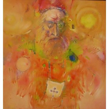 Mariusz KONCZALSKI obraz olejny pilśń 74x70