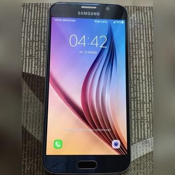 Samsung Galaxy S6 Sprawny pęknięta szybka