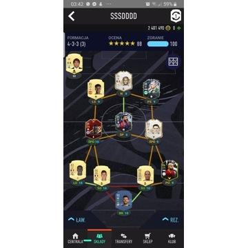 FIFA 21 2.5MLN COINS ORAZ POTĘŻNY SKLAD