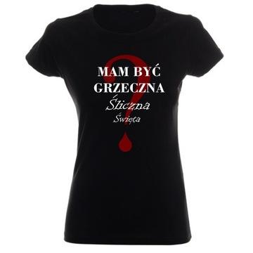 NIEBANALNE NAPISY -koszulki dla kobiet