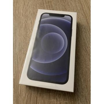 Iphone 12 64gb black nowy zafoliowany gwarancja