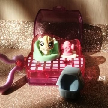 Mini LPS Littlest Pet Shop Wiewiórka + Domek z akc