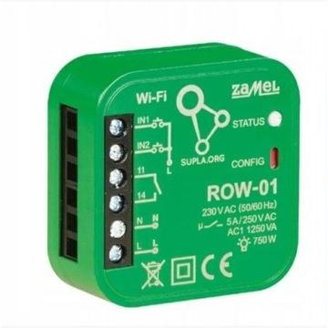 Sterownik Oświetlenia Wi-Fi SUPLA ROW-01 ZAMEL