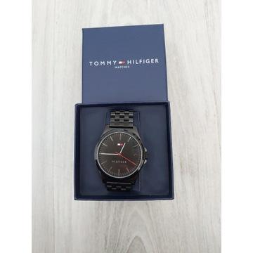 Zegarek męski Tommy Hilfiger NOWY- czarny