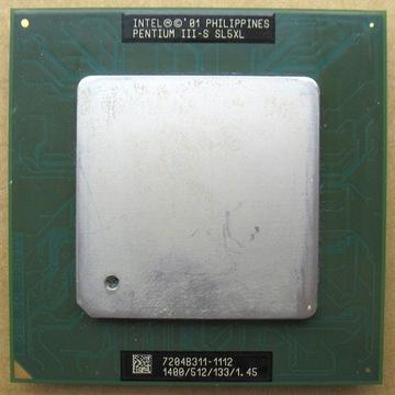 Tualatin Pentium III-S SL5XL 1400/512/133/1.45.