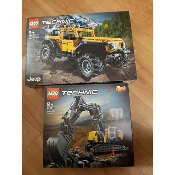 Lego Technic 42122,42121