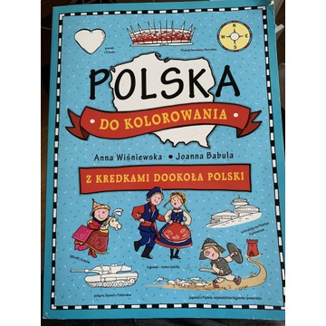 Polska do kolorowania