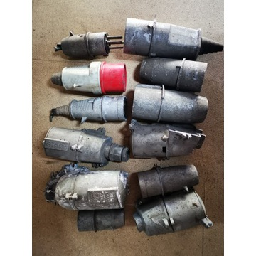 Wtyczki siłowe siła kontakt 400/500 V metalowe