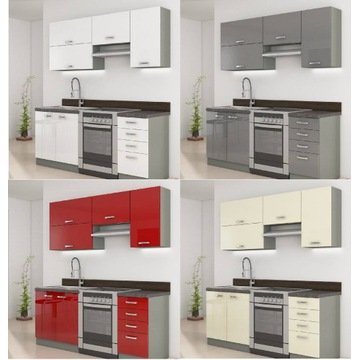 Meble,szafki kuchenne kuchnia Rose,Grey,Bianka
