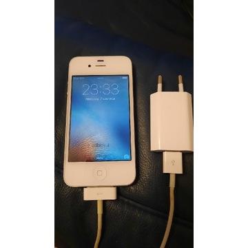 Iphone 4s. Biały  zadbany.  16gb
