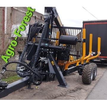 Przyczepa Leśna More Maskiner SF11 70-5 11t Palms