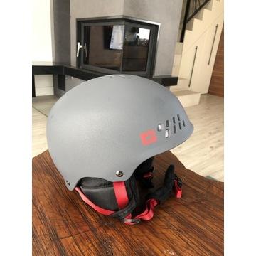 Kask narciarski K2 Pro, wbudowane słuchawki, r.M