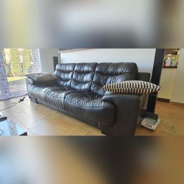 Sofa Vinotti - naturalna skóra