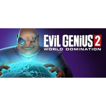 EVIL GENIUS 2 World Domination KEY+2 GRY BONUS