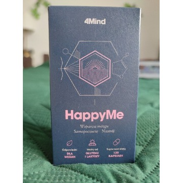 HappyMe 4Mind Nastrój cytryniec różeniec depresja