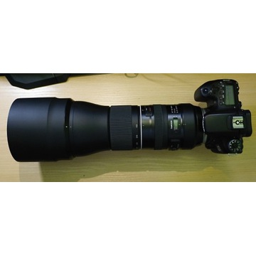 Canon 70D + Tamron G2 150-600 + TAP-in console