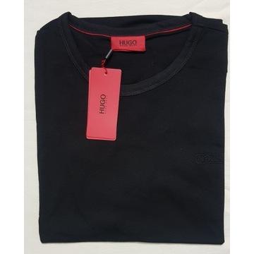 T shirt koszulka Hugo Boss czarna XXL - Wyprzedaż