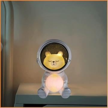 Miś Astronauta Lampka Dziecięca HIT