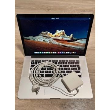 "MacBook Pro 15"" Retina i7-4core 8GB SSD256GB A1398"
