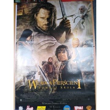 Władca Pierścieni Powrót Króla - plakat kinowy