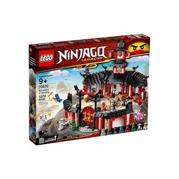 LEGO NINJAGO Klasztor Spinjitzu 70670 Nowy