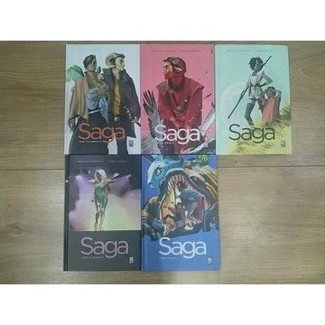 Saga Vaughan tomy 1-5