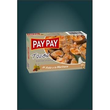 Ośmiornice tacos Pota w sosie marinara Pay Pay