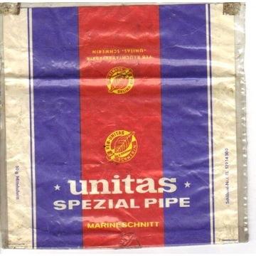 Opakowanie po tytoniu Unitas do fajki