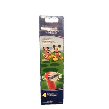 4x Oral B Końcówki dla Dzieci Stages Power Braun