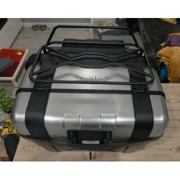 Kufer GIVI TRK46 TREKKER 46 + oparcie + bagażnik