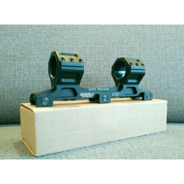 Super precyzyjne mocowanie lunety, tubus 30 mm
