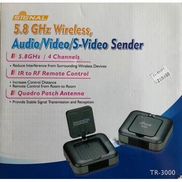 Audio/Video sender 5,8GHz wireless