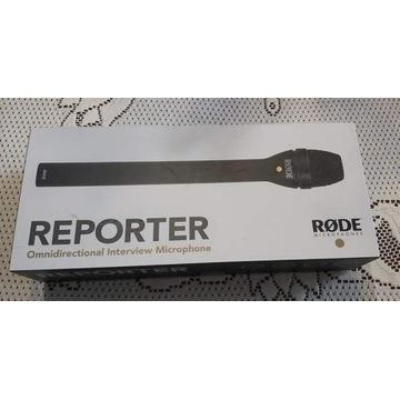 RODE REPORTER - Mikrofon Reporterski z nakładką NO