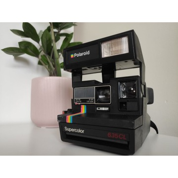Aparat Polaroid SUPERCOLOR 635CL 8 WKŁADÓW ALL IN