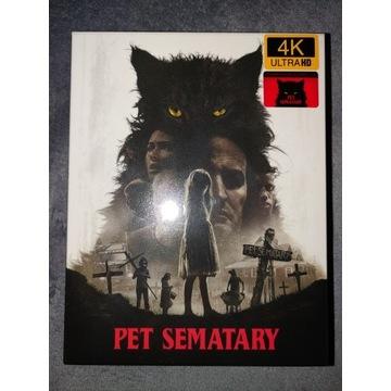 Smętarz Dla Zwierzaków filmarena 2D+4K steelbook