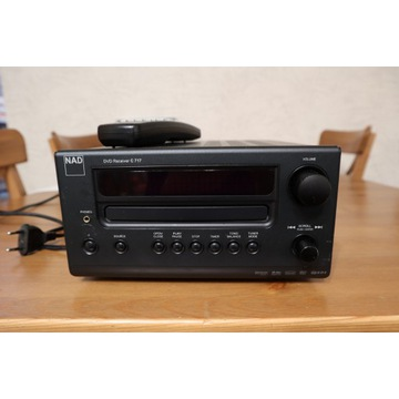 Amplituner,Odtwarzacz DVD, radio NAD - uszkodzone.