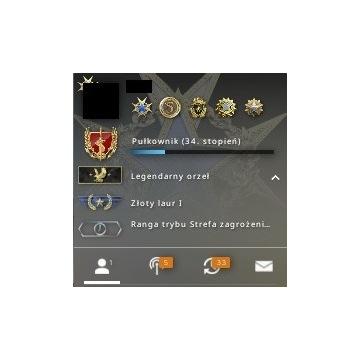 CS:GO-Konto steam z rangą Legendary Eagle.