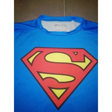 Koszulka kompresyjna superman under armour r. XL