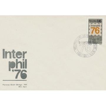 1976 Wystawa Filatelistyczna Interphil 76 FDC