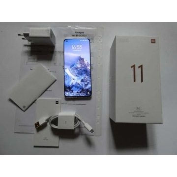 Xiaomi MI 11 5G biała perła 8/256, Snapdragon 888