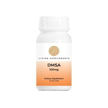 DMSA 100 mg CHELATOR 50 KAPSUŁEK - CHELATACJA RTĘĆ