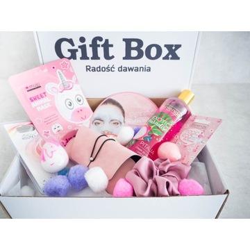 Gift Box damski z pomponami